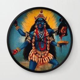 Kali - Hindu Wall Clock