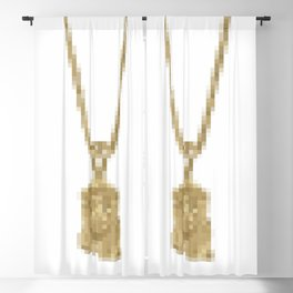 JESUS PIECE Blackout Curtain