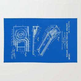 Skee Ball Patent - Blueprint Rug