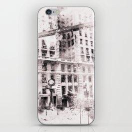 Sao Paulo - WaterColor iPhone Skin