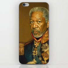 Morgan Freeman - replaceface iPhone & iPod Skin