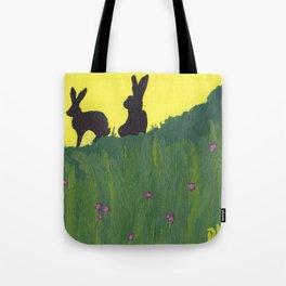 Young Peter Rabbit - Panel 3 Tote Bag