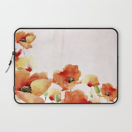 Beautiful Poppies #society6 Laptop Sleeve