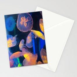 Jellyfish Lavalamp Stationery Cards