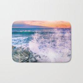 Surf Atlantic Rocky Coast Bath Mat