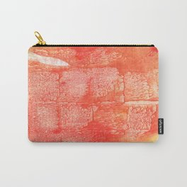 Tomato yellow Carry-All Pouch