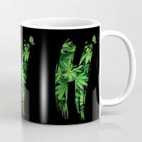 marijuana Mugs featuring Marijuana H by Spyck