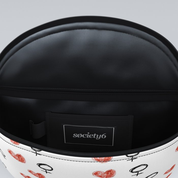 symbol of woman with a heart 5 Fanny Pack