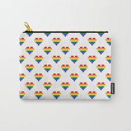 LGBT Heart Carry-All Pouch