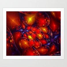 Assortment Of Eggs Art Print