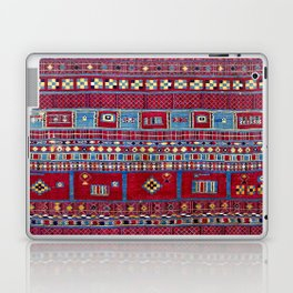Tunisian Flatweave Antique Tribal Rug Print Laptop & iPad Skin