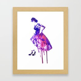 Miss Framed Art Print