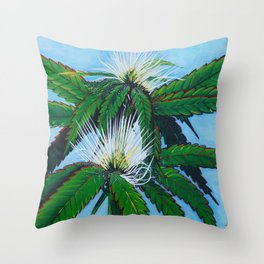 Lemon Haze Throw Pillow