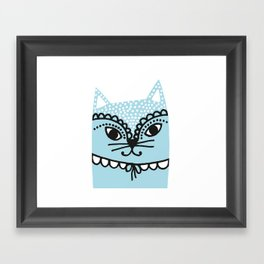 Katze #1 Framed Art Print