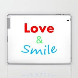 Love & Smile Laptop & iPad Skin