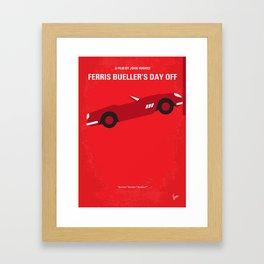 No292 My Ferris Bueller's day off mmp Framed Art Print