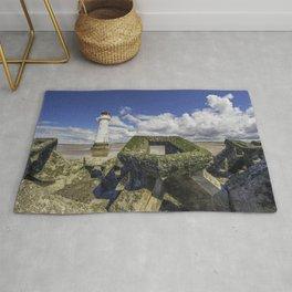 Perch Rock Lighthouse Rug