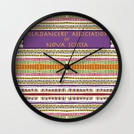 Folkdancers' Association of Nova Scotia Wall Clock