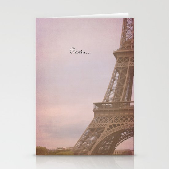 Paris... Stationery Cards