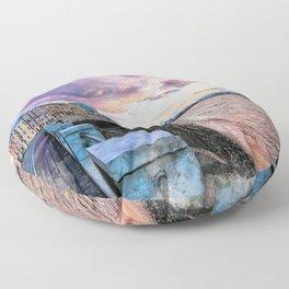 Trapani art 2 Floor Pillow