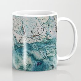 Blue underwater stone Coffee Mug
