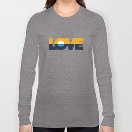 LOVE - People's Flag of Milwaukee Long Sleeve T-shirt