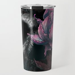 Death Blooms Travel Mug