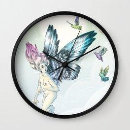 fly Wall Clock