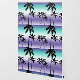 Alexandrite tropical palms Wallpaper