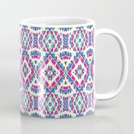 Colorful Folk Style Pattern Coffee Mug