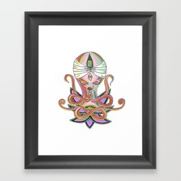 Swamipus Octopi Framed Art Print