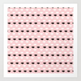 Blushed And Dainty Art Print
