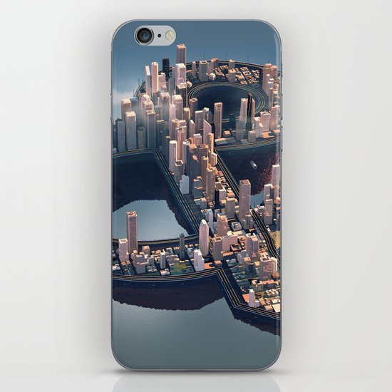 The City iPhone & iPod Skin