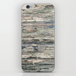 Old Rotten Wood iPhone Skin