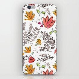 Fall Pattern iPhone Skin