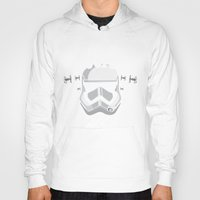 vodka Hoodies featuring Trooper's cloned vodka by BomDesignz