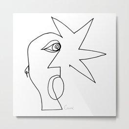 Punk Guy. Metal Print