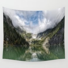 Lake Landscape #mountains Wall Tapestry