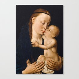 Virgin and Child by Dieric Bouts, 15th Century Canvas Print