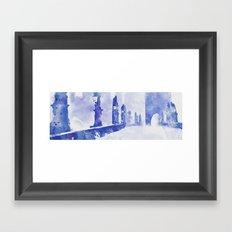 Charles bridge (Prague) Framed Art Print