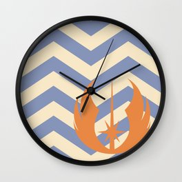 Ahsoka Tano Chevrons Wall Clock
