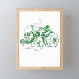 Farming Agriculture Gift It's A Tractor Pulling Thing Framed Mini Art Print