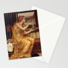 THE LOVE POTION - EVELYN DE MORGAN  Stationery Cards