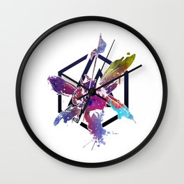 The Theory - LP Art Wall Clock