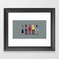 The Fastest Man Alive Framed Art Print