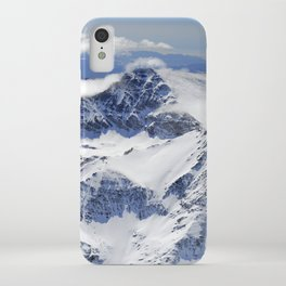 """""""Big mountains"""". Aerial photography iPhone Case"""