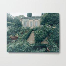 Grey Boboli Gardens Metal Print