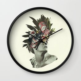 Fully Charged Wall Clock