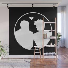 In Love Wall Mural