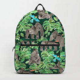 Gorillas in the Emerald Forest Backpack